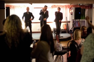 Take That tribute on stage at the Kings Club Function Room in Warrington